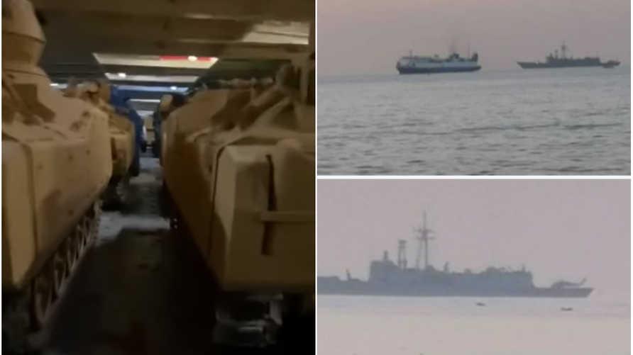 فيديو للمدرعات التركية في طريقها إلى ليبيا