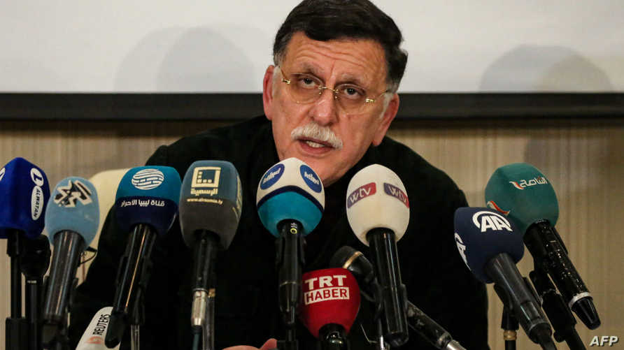 فائز السراج رئيس حكومة الوفاق الليبية