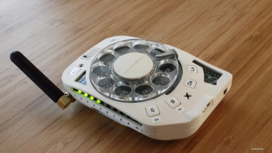 هاتف محمول بقرص دوار