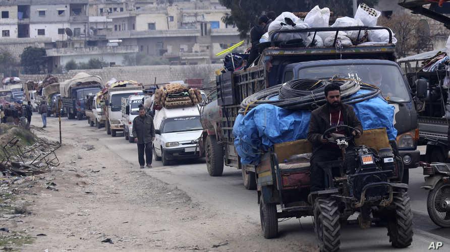 نصف مليون شخص نزحوا خلال شهرين فقط من شمال غرب سوريا