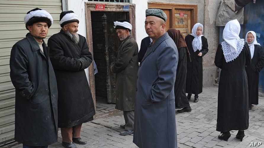تحتجز السلطات نحو مليون شخص من الأويغور في معسكرات اعتقال. أرشيفية