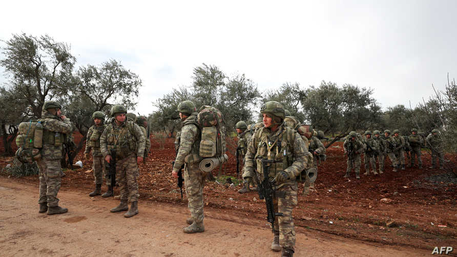 جنود أتراك في إدلب