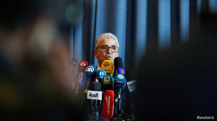 فتحي باشاغا وزير الداخلية في حكومة الوفاق