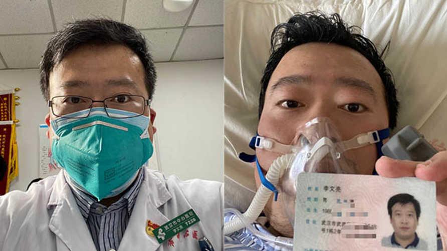 الطبيب الصيني اتهم بنشر أخبار كاذبة