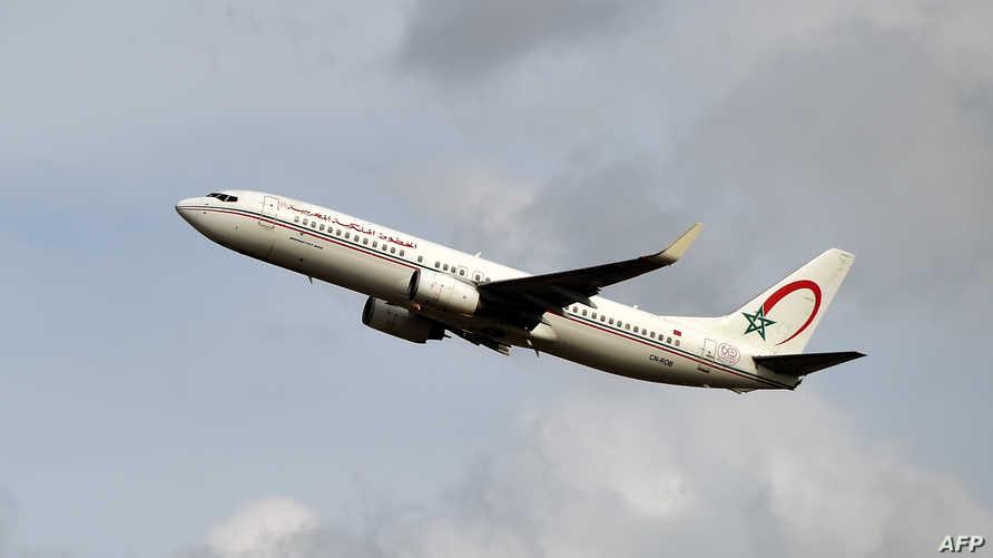 طائرة تابعة للخطوط الجوية المغربية - 27 سبتمبر 2019