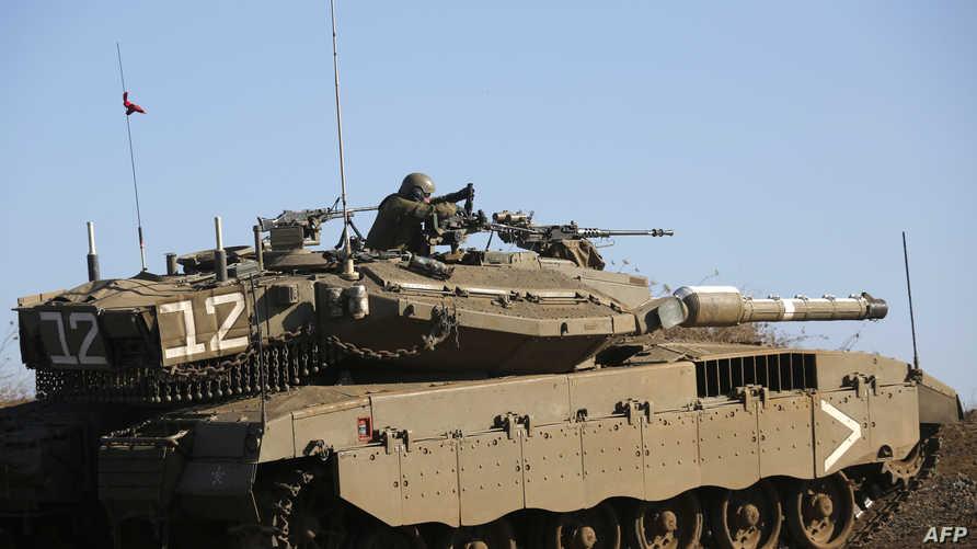 دبابة مركافاه إسرائيلية