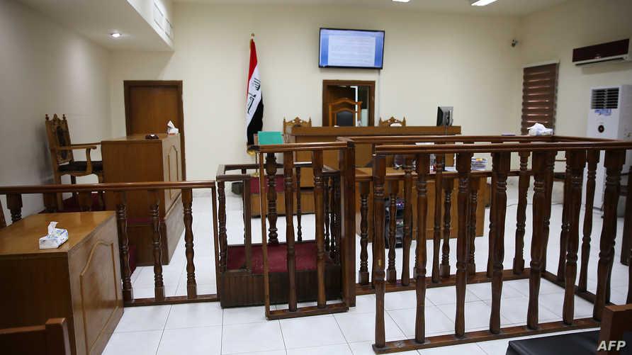 قاعة محكمة عراقية