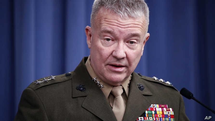 """الجنرال كنيث """"فرانك"""" ماكينزي"""