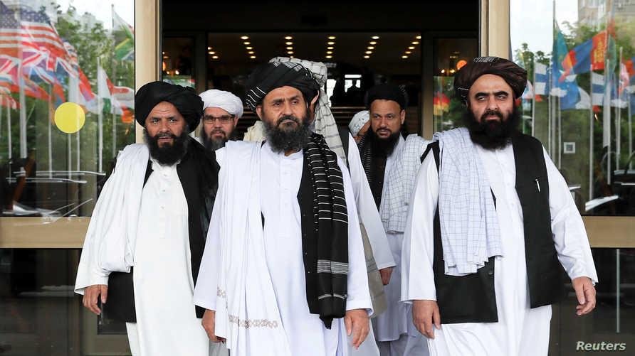 وفد حركة طالبان في المفاوضات مع أميركا