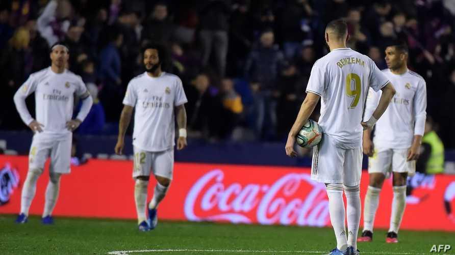 ريال مدريد خسر 5 نقاط في مباراتين