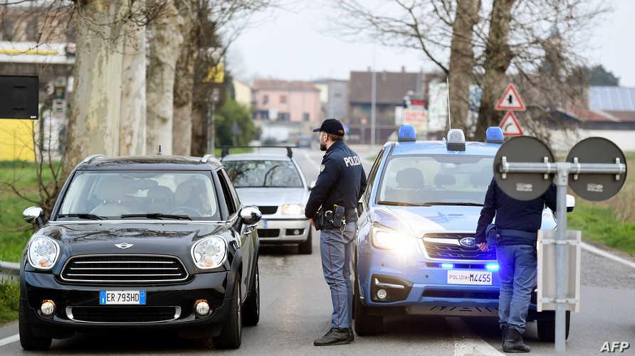 فرضت السلطات طوقا أمنيا حول بعض البلدات في شمال إيطاليا