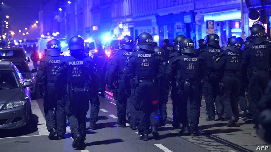 عناصر من الشرطة الألمانية- 25 يناير 2020