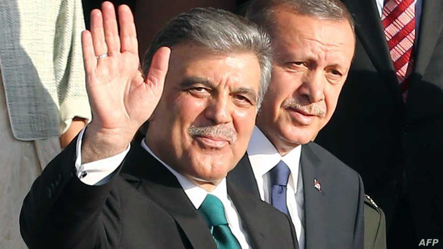 عبدالله غول ورجب طيب إردوغان