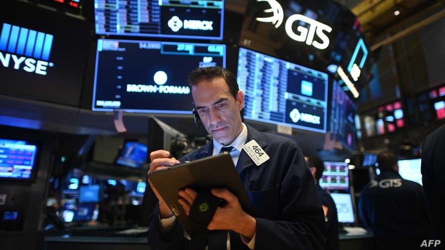 متاجرون في سوق البورصة الأميركية - ١٩ مارس ٢٠٢٠
