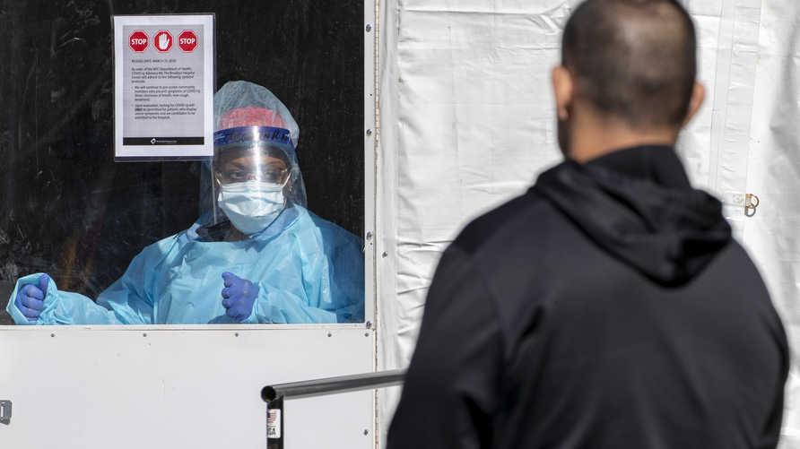 زيادة كبيرة في أعداد المصابين بكورونا في الولايات المتحدة والسلطات الصحية تجري فحوصات على سكان البلاد