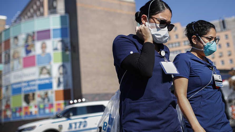 عدد الوفيات بفيروس كورونا المستجد في الولايات المتحدة يتجاوز ألفي حالة