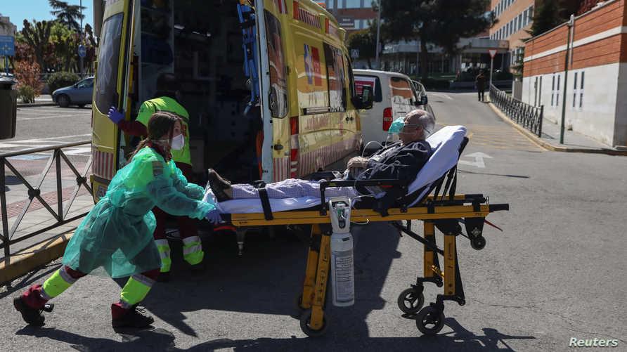 تحل حصيلة الوفيات في إسبانيا في المرتبة الثانية عالميا بعد إيطاليا إذ بلغت 5690.