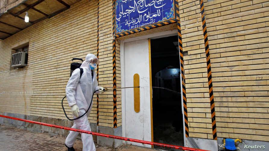 تسجيل إصابات جديدة بفايروس كورونا في العراق بالتزامن مع اغلاق مراقد ومزارات دينية خوفا من انتشار الفيروس