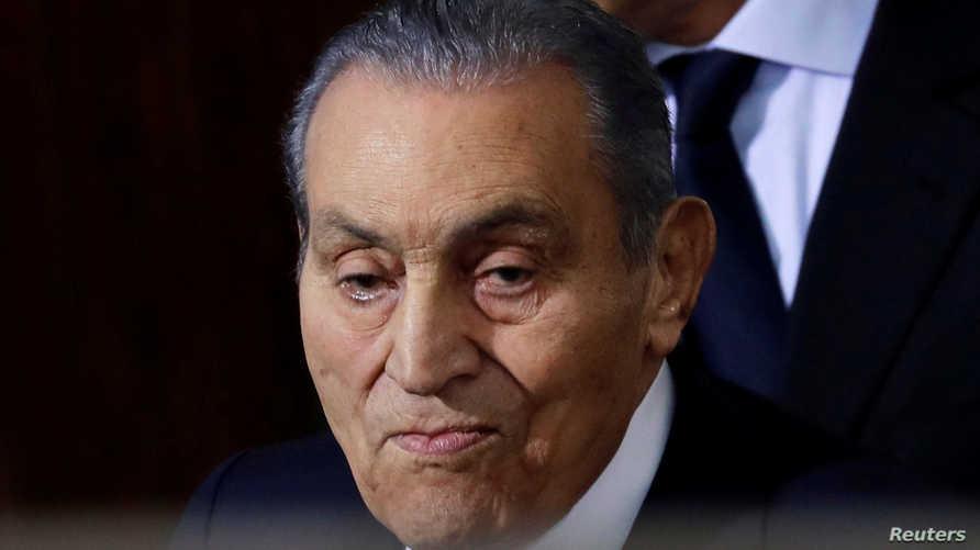 الرئيس المصري الأسبق حسني مبارك توفي يوم الثلاثاء 25 فبراير 2020