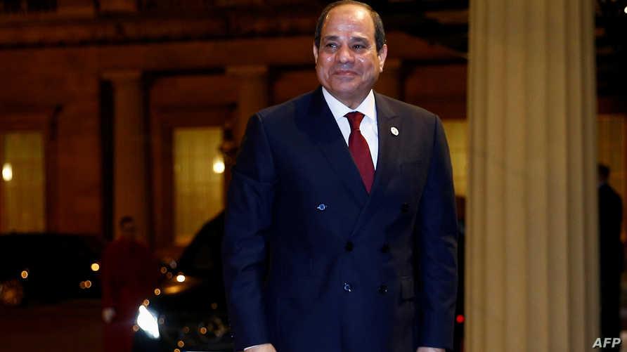 الرئيس المصري عبد الفتاح السيسي يمدد حالة الطوارئ ثلاثة أشهر