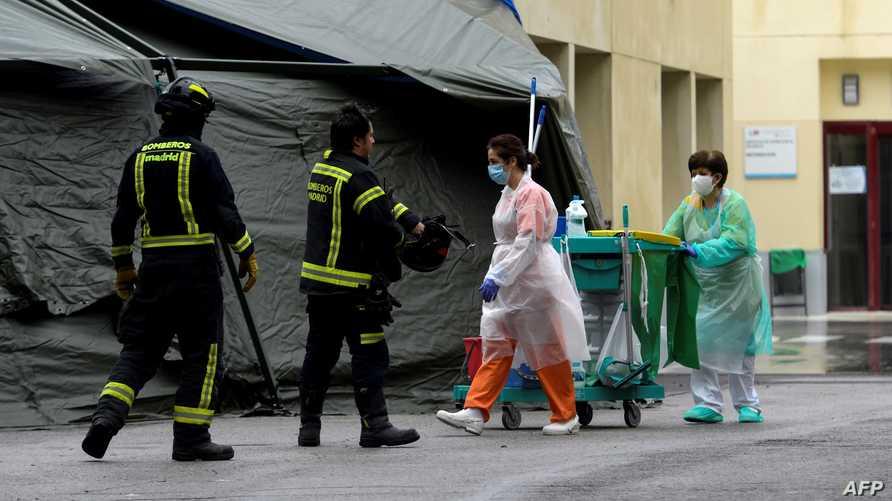 تسجيل رقم قياسي جديد بعدد الوفيات اليومي بفيروس كورونا المستجد بإسبانيا