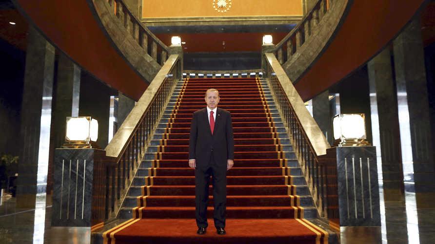 المحكمة الدستورية كانت قد أصدرت حكما يمنع إردوغان من بناء القصر