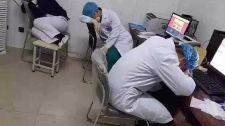 متحدث يقول إن 15 من الطاقم الصحي أصيبوا بفيروس كورونا المستجد