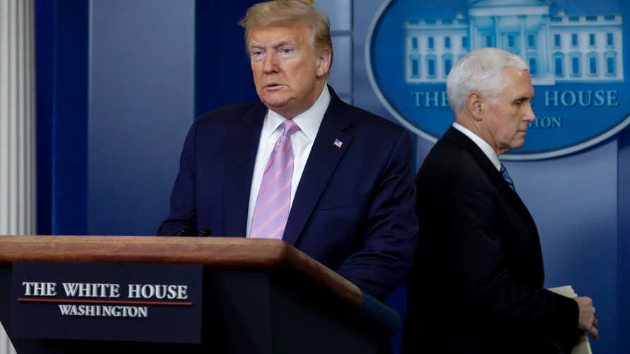 الرئيس الأميركي يعتقد أن عدد الوفيات جراء مرض كوفيد-19 سيكون أقل مما قيل في السابق
