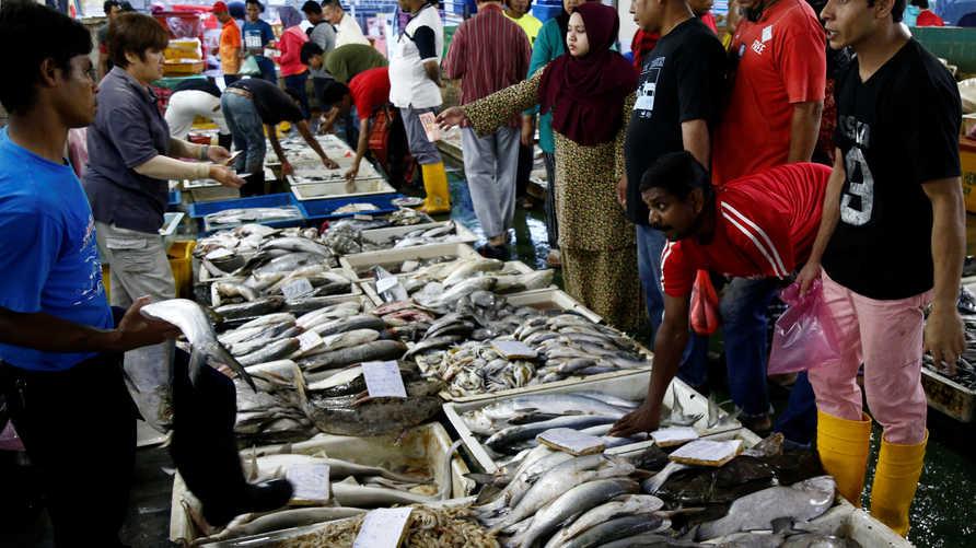 استمرار بيع الحيوانات البرية في إندونيسيا