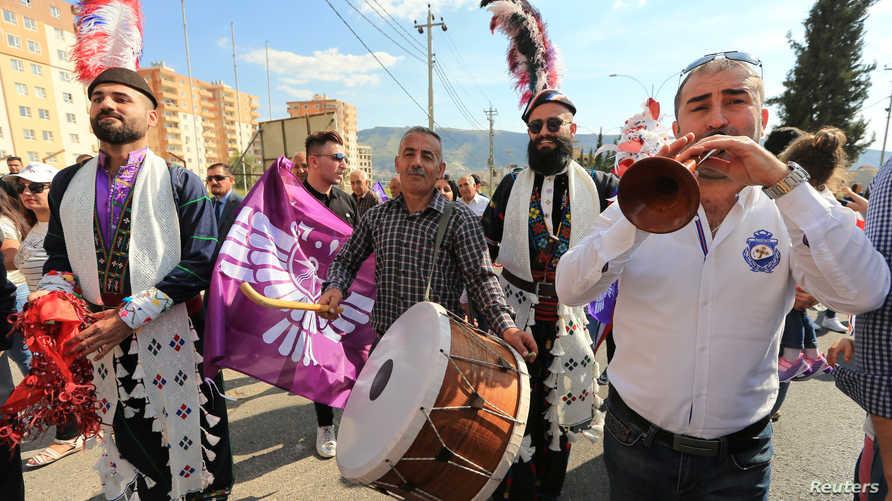 """انتقل الاحتفال بعيد """"أكيتو"""" من بابل إلى آشور، ومنها انتقل إلى الكرد والفرس والشعوب الأخرى"""