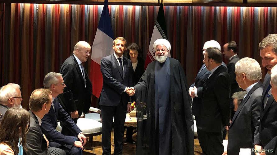 دعوة تأتي عقب ضغط إيراني على أوروبا لمساعدتها على تجاوز أزمة كورونا