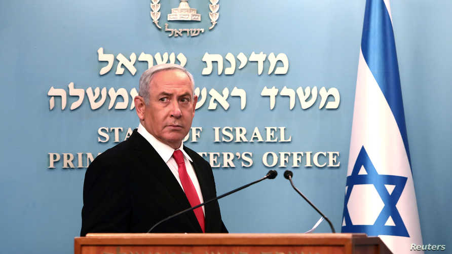 كان نتانياهو قد خضع لحجر صحي بعد أن تأكدت إصابة وزير الصحة الإسرائيلي بالفيروس