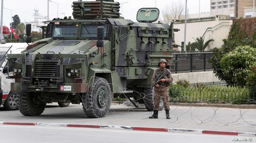 أفادت الداخلية التونسية أن العملية لا تزال متواصلة