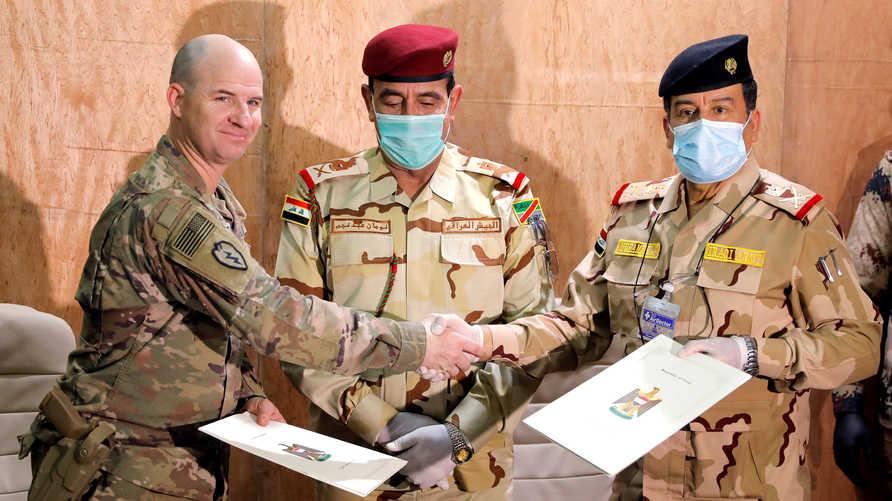 مصير القوات الأميركية في العراق مؤجل بعد الاتفاق على إجراء حوار بين الطرفين في يونيو