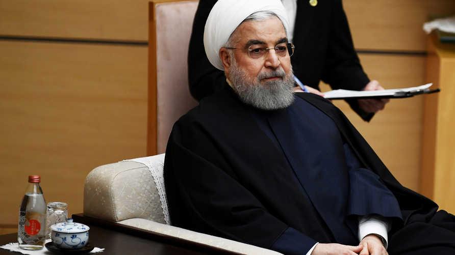 روحاني يؤكد أن العقوبات الأميركية لا تقف عائقاً في مكافحة الفيروس