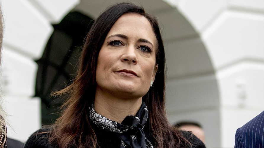 غريشام تغادر منصب المتحدثة باسم البيت الأبيض من دون أن تعقد أي مؤتمر صحفي خلال شغلها للمهمة