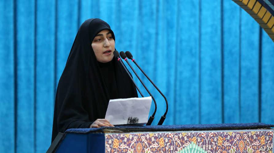 في أوائل شهر مايو الجاري، عينت السلطات الإيرانية زينب سليماني لإدارة مؤسسة قاسم سليماني