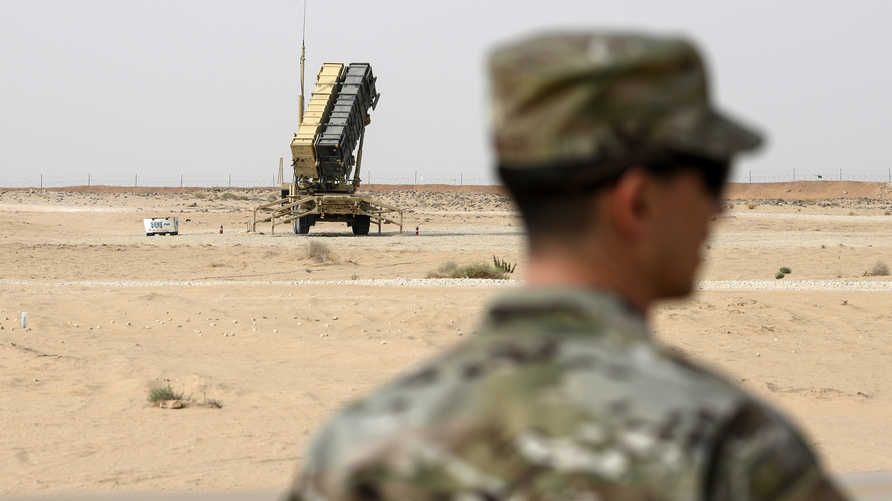 """البنتاغون يدرس خفض بطاريات """"باتريوت"""" الدفاعية في السعودية."""