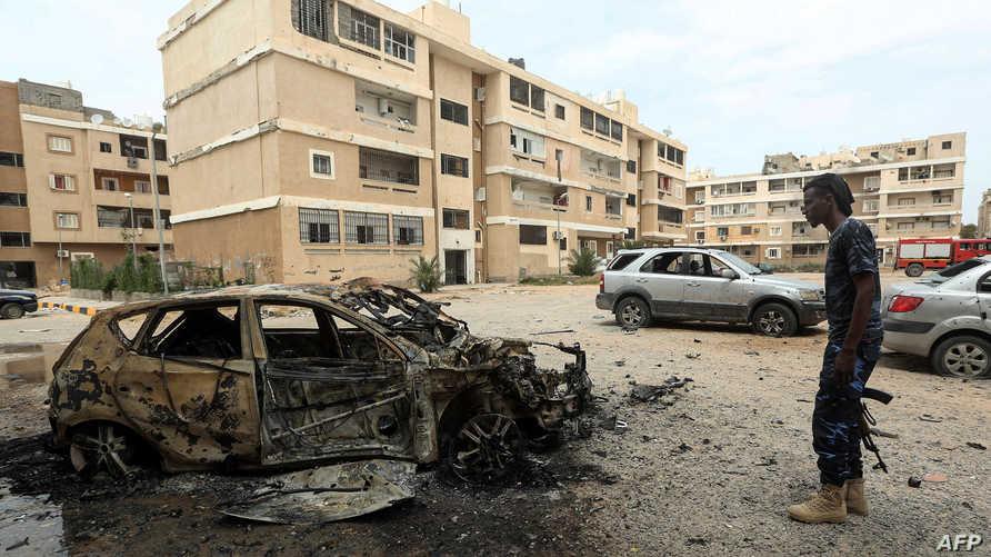 """الأمم المتّحدة تعرب عن """"قلقها البالغ من تدفّق هائل للأسلحة والمعدّات والمرتزقة"""" على ليبيا"""