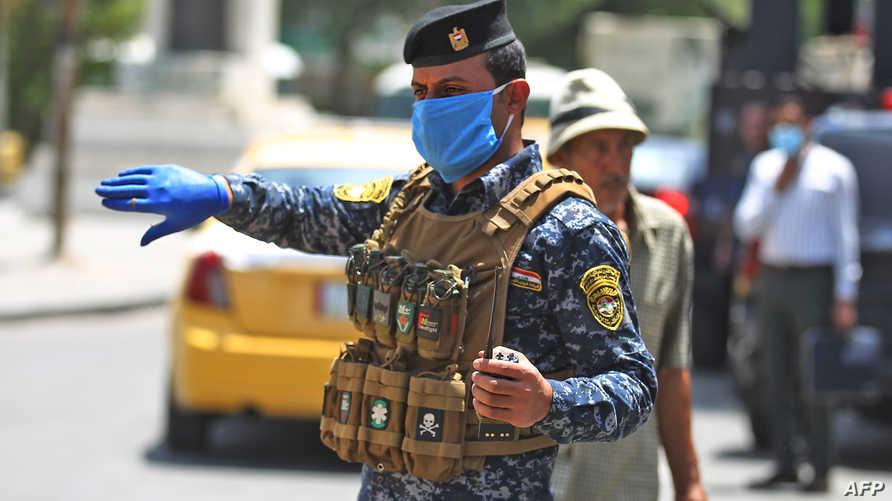 استسلام أفراد عصابة عراقية لقوات الأمن بعد تضييق الخناق عليها