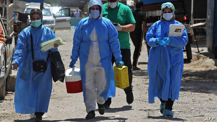 بلغ عدد الإصابات بفيروس كورونا المستجد في العراق 3946 إصابة، و147 حالة وفاة، وفق الأرقام الصادرة من وزارة الصحة العراقية
