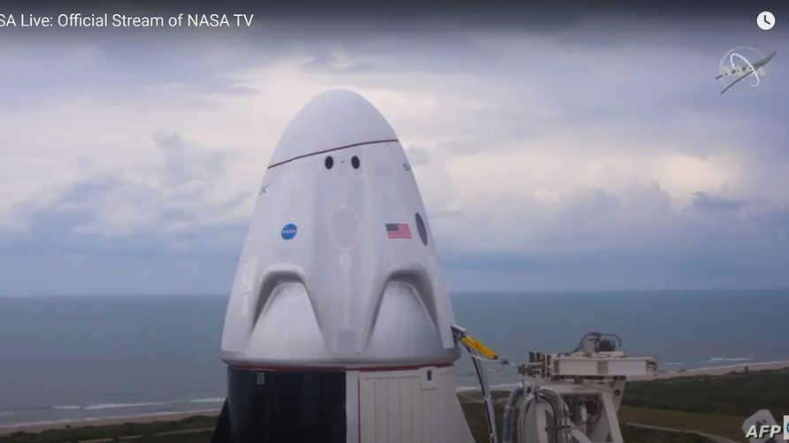 """""""سبيس إكس"""" ترجئ مهمتها التاريخية إلى الفضاء بسبب رداءة الطقس"""