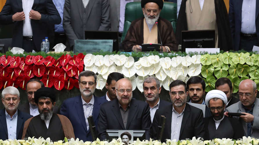انتخاب رئيس بلدية طهران السابق المحافظ محمد باقر قاليباف رئيسا لمجلس الشورى الإيراني