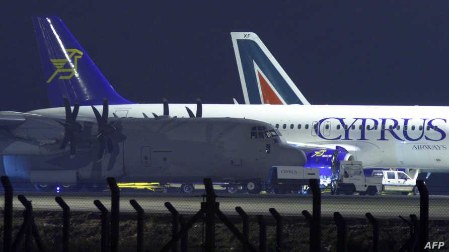 طائرة تابعة للخطوط الجوية القبرصية