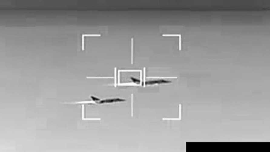 مقاتلتان روسيتان في سماء ليبيا