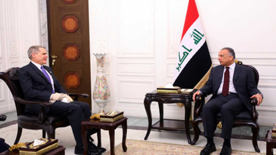 الكاظمي اجتمع بسفير الولايات المتحدة في العراق ماثيو تولر بعد تسلمه مهام منصبه
