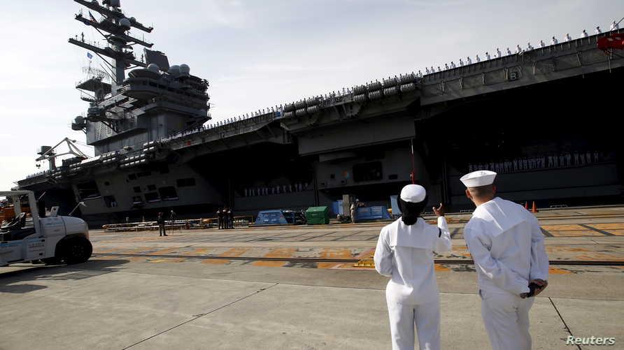 جرح أحد أفراد القوات البحرية في هجوم الخميس