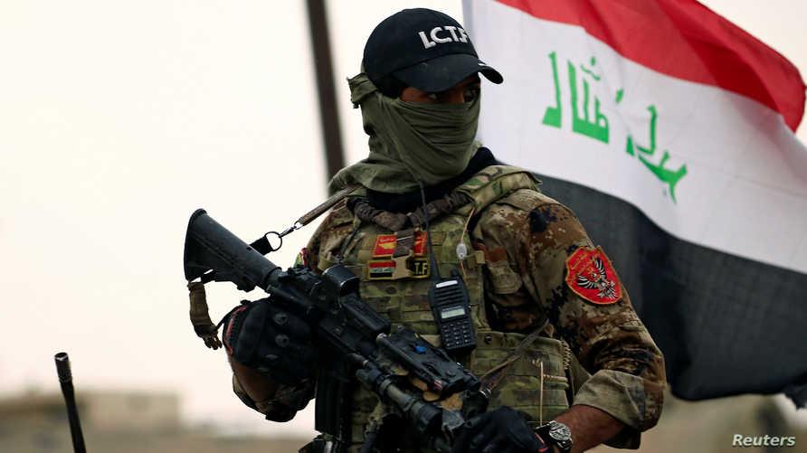 تم استهدافه وفق معلومات استخبارية دقيقة من قبل جهاز مكافحة الإرهاب العراقي