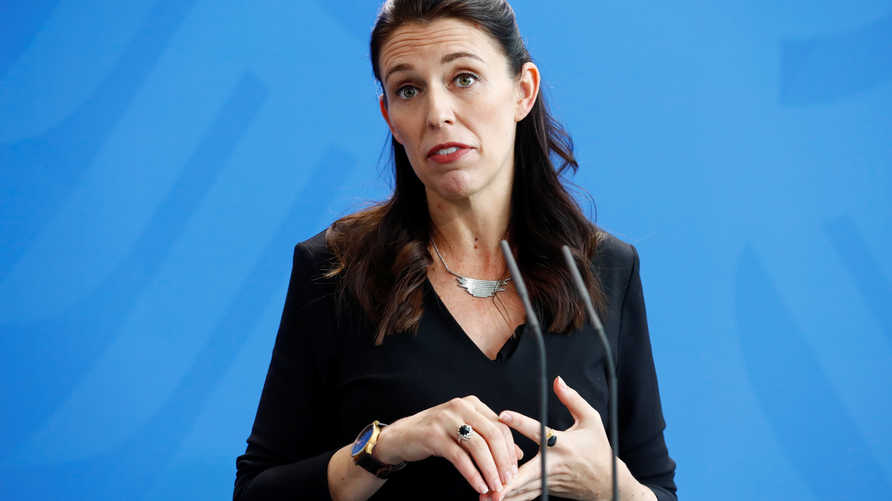 رئيسة وزراء نيوزيلندا غاسيندا أرديرن