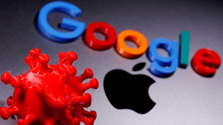 غوغل وآبل تطلقان تطبيق لتتبع مصابي فيروس كورونا